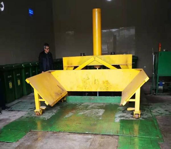 平移无柱垂直压缩拉圾中转站